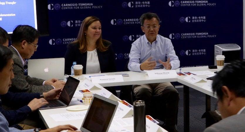 Climate dialogue Beijing