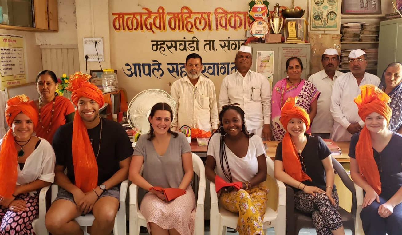 C-Lab students in India